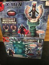 X-Men Movie Lady Liberty & Magneto Mutant Machine Action Figure Playset 2000