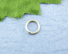 1200PCs Silver Tone Open Jump Ring 5mm dia SP0004
