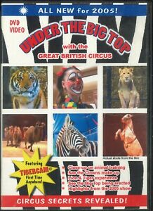 Under the Big Top with the Great British Circus Tiger Lion Animal Training DVD