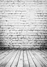 Photo Studio Background for Baby Brick Walls Photography Backdrops Vinyl 5x7FT