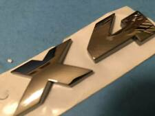 LOGO BMW X4 TYPE M CHROME ANTHRACITE SIGLE BADGE ORIGINAL
