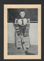 1934-44 Beehive Group I Boston Bruins Photos #35 Tiny Thompson