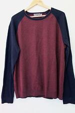 NWT Vince Men's Designer Pull-Over Crewneck Cotton Cashmere Sweater XL $245