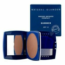 NATURAL GLAMOUR Pressed Bronzer Compact SUMMER - SPF 12 -