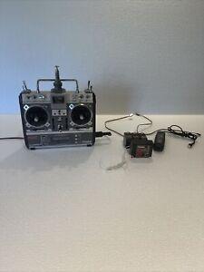 Futaba FP T8SGA P RC Transmitter W/ Receiver +  PC FP-R118GP Ch 48 & Extras