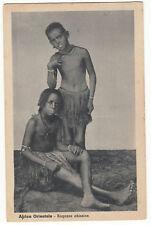 CARTE POSTALE AFRICA ORIENTALE RAGAZZE ABISSINE
