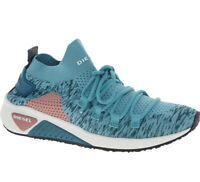 """Diesel S-KB Sock Trainers Running Shoe Gym Shoes """"Dusty Turquoise"""" Sz 6, & 6.5"""