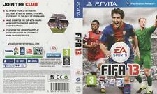 Fifa 13 - Sony PS Vita Game - great condition SA