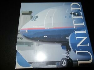 Superbus 1:400 United Airlines A320 Battleship Livery Excellent Condition in Box