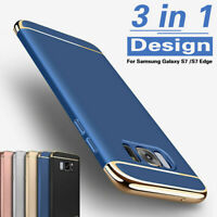 For Samsung Galaxy S7/S7 Edge Shockproof Slim Hard Rugged Protective Case Cover