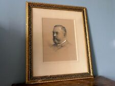 Antique 19th Century French Portrait of Frank Isidore by Jules Girardet 1888