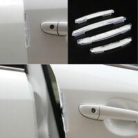 4Pcs Universal Car Door Edge-Scratch Anti-collision Protector Guard Strip US