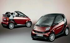 SMART FORTWO CITY COUPE/CABRIO Officina Riparazione Manuale 1998 - 2009 450 & 451 CD