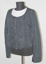 Diesel Bomber womens black jacket Size M