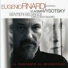 Finardi Eugenuio - Vysotsky  Il Cantante Al Microfono  - CD  Nuovo Sigillato