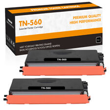 2PK High Yield TN560 Toner Compatible for Brother MFC-8890DW 8680DN DCP-8890DW