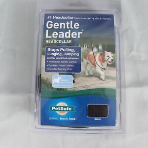 PetSafe Gentle Leader Headcollar No-Pull Dog Size Small (up to 25 lb) Black