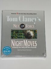 Audiobook Tom Clancy Night Moves Read By Edward Herrmann New Sealed