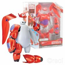 "New Big Hero 6 Armour-Up Baymax 8"" Action Figure 20 Piece Disney Official"