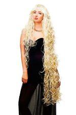 PERRUQUE pour femme ewig LONG 120 cm ! Blond platine bouclé Raiponce tc-1035-613