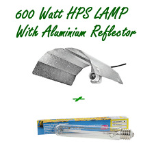 600W HPS HIGH PRESSURE SODIUM HYDROPONIC GROW TENT LAMP AND ALUMINUM REFLECTOR