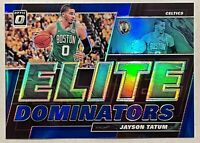 Jayson Tatum 2019-20 Panini Donruss Optic Elite Dominators Blue Prizm /49 HOT 🔥