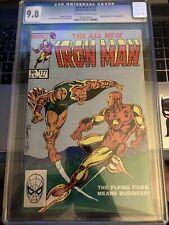Iron Man 177 CGC 9.8 12/83 Power Man & Iron Fist App COA RJ {CGCB2}