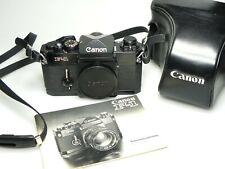 Canon F-1 SLR + Canon Case EXCELLENT