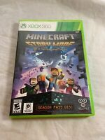Xbox 360 Mincraft Story Mode A Telltale Game Series