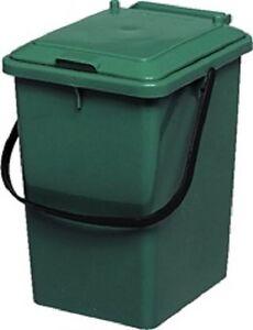Graf Biokomposteimer grün Bioeimer Biotonne Kompost Küche Abfalleimer Garten