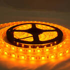 Waterproof Yellow Amber 12V 5M 5050 SMD 300 LED Led Strip Lights Camping Caravan