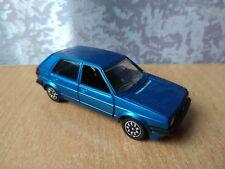 Car model 1:43 Metal Schabak Volkswagen Golf blue Germany 1002