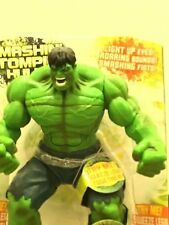 "INCREDIBLE HULK - Smash N' Stomp 12"" Talking Figure Marvel Hasbro 2008 NIB"