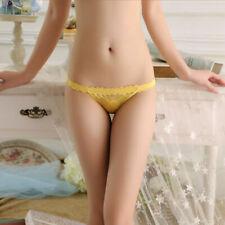 New Sexy Women Panties Briefs Sheer Knickers Lingerie Underwear Thongs G-string