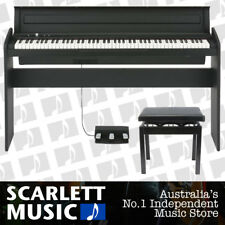 Korg LP-180 88 Key Digital Piano Black - w/ Piano Stool *BRAND NEW*