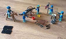 Raro 1970s Playmobil caballería playpeople Vintage EE. UU. Super Set 1770, Marx Toys