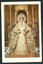 Estampa antigua Virgen de la Macarena andachtsbild santino holy card santini