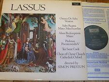 ZRG 795 Lassus Imnes de saba venient etc. / Preston / Christ Church