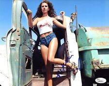(SSG) HOT NIKKI COX Signed 10X8 Color Photo with a JSA (James Spence) COA