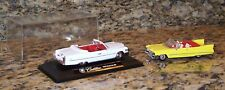 NewRay Cadillac's 1959 Series 62 & 1976 Coupe De Ville Diecast Model Cars 1:43