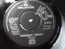 "Wings Goodnight Tonight 7"" Single Parlophone 1979 Ex Condition.."