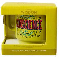 Disney Wisdom Mug Pinocchio Jiminy Cricket Limited Release Figaro Conscience Cat