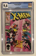 Uncanny X-Men #208 CGC 9.6 Chris Claremont JOHN ROMITA JR. 1986