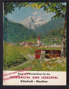 Berg- und Wanderführer für das Obergailtal und Lesachtal (1965)  - Hlawatschek,