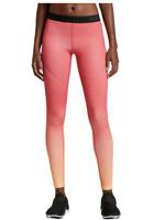 Nike Pro Women's Hyperwarm Tights. Orange Ombre. Size XS. Orig $70. *NWT*