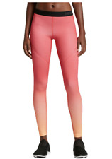 Nike Pro Women's Hyperwarm Tights. Orange Ombre. Size XS.