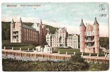 CANADA 438 -MONTREAL -ROYAL VICTORIA HOSPITAL (1913)