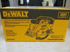 DEWALT MAX 20V Lithium-Ion 6 1/2-inch Cordless Circular Saw (Tool Only), DCS391B