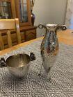 Zolotas Athens Greece 925 Sterling Silver  Lion Skyphos Wine Cup & Vase