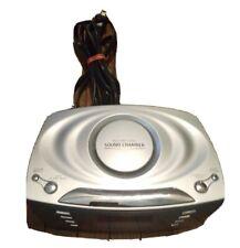 Timex Dual Alarm Clock Radio Multi Directional Sound Chamber MP3 Aux/Port